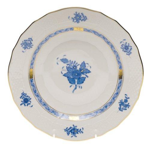 Herend Chinese Bouquet Blue Dessert (Blue Porcelain Bouquet)
