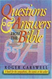 img - for Questions and Answers from the Bible: A Book for the Sympathetic, the Sceptic or the Seeker by Roger Carswell (1996-04-07) book / textbook / text book