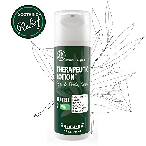 Tea Tree Oil Therapeutic Lotion – Antifungal & Anti Itch ...