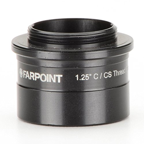 1.25'' nosepiece-to-C /CS mount male adapter, FAP201 by Farpoint