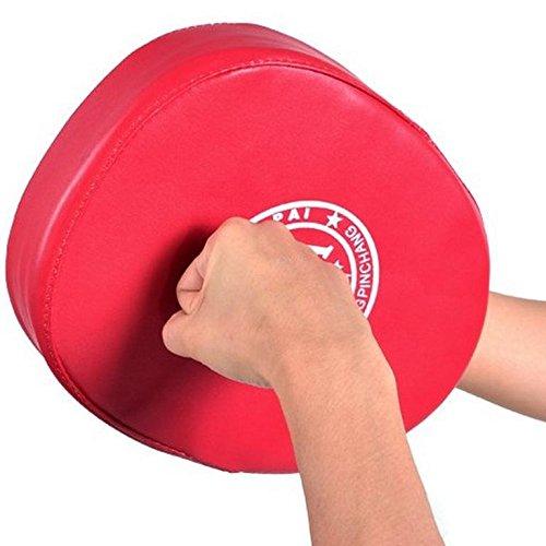 FidgetGear Sales Boxing Mitt Training Target Focus Punch Pad Glove MMA Karate Muay 1X3Q