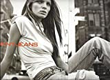 --Magazine PRINT AD--With Esther Canadas For 1999 DKNY Jeans--PRINT AD--