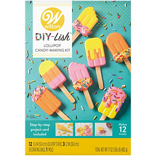 Wilton DIY-Lish Lollipop Candy-Making Kit