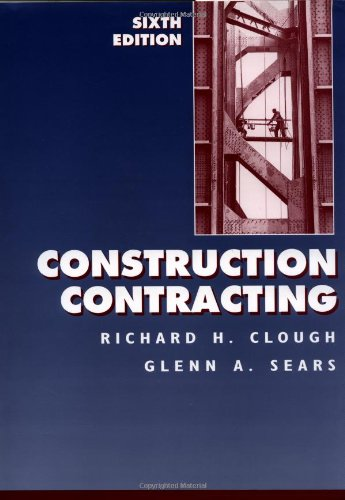 Construction Contracting, 6th Edition
