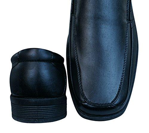 Brickers 2185 Heren Slip-on Schoenen / Loafers Zwart