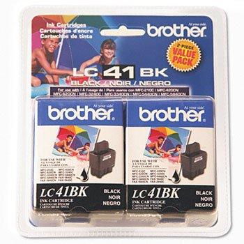INKCART - CLM - LC41BK - 2 Pack,Black