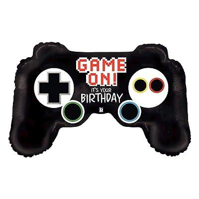 "36"" Video Game Controller Mylar Balloon: Toys & Games"