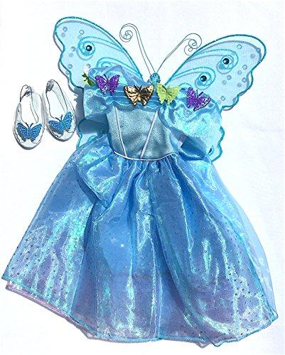 Jeweled Fairy Princess Wings - 7