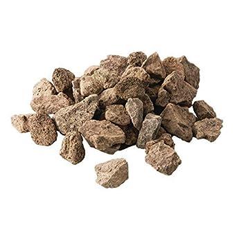 Combustible de piedras volcánicas para barbacoa, 5 kg