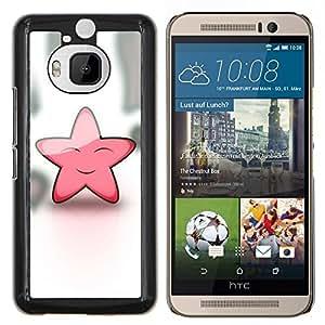 LECELL--Funda protectora / Cubierta / Piel For HTC One M9Plus M9+ M9 Plus -- Estrella rosada linda Friendly Art Sky Dream Fairytale --