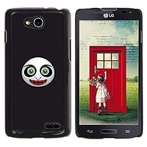 Be Good Phone Accessory // Dura Cáscara cubierta Protectora Caso Carcasa Funda de Protección para LG OPTIMUS L90 / D415 // Evil Mask Face