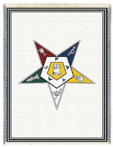 - Order of the Eastern Star Tapestry Throw
