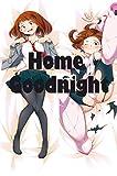 Home Goodnight OCHACO URARAKA - My Hero Academia 160 x 50cm(62.9in x 19.6in) Peach Skin Pillowcases