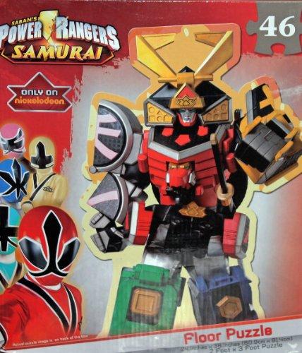 Power Rangers Samurai Megazord Floor Puzzle