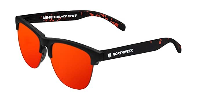 NORTHWEEK Call of Duty Zombie Edition Gafas de Sol, Gravity, 140 Unisex
