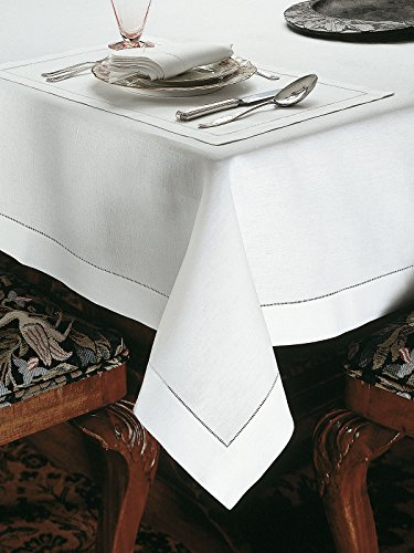 Marbella Tablecloths, White (90