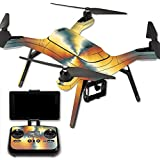 MightySkins Protective Vinyl Skin Decal for 3DR Solo Drone Quadcopter wrap cover sticker skins Eye Of The Storm