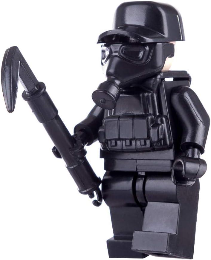 DC17 1x Little Arms kompatibel mit LEGO Figuren in schwarz