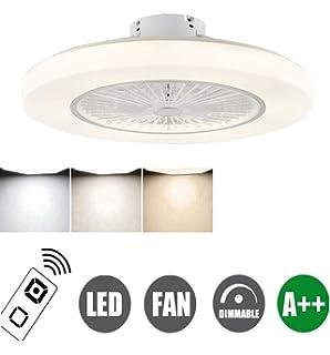 Ventilador De Techo Con Iluminación Ventilador De Techo LED ...
