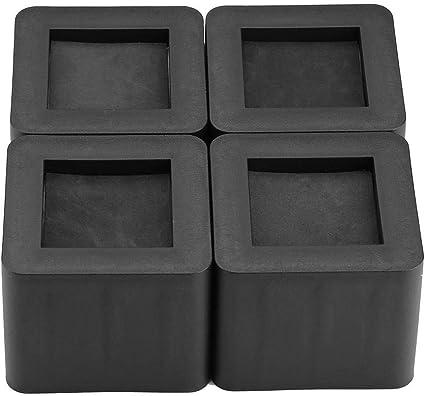 Eachbid Piedini Protettivi per Mobili Rialzi per Gambe di Letto Divano Tavolo Alzatine da 8cm Resistente 4pz