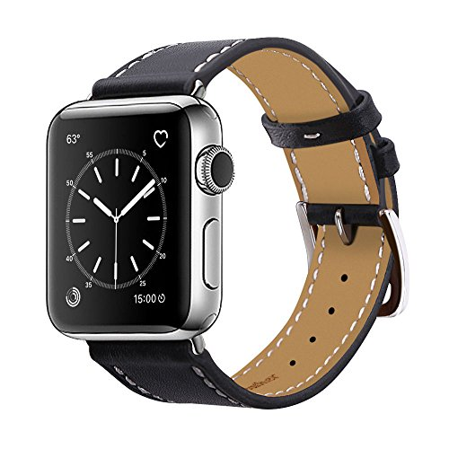 Genuine Leather iwatch Replacement Stainless