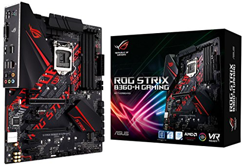 ASUS ROG Strix B360-H Gaming LGA1151 (Intel 8th Gen) DDR4 HDMI DVI M.2 B360 ATX Motherboard