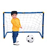 Smartcoco 58cm Football Soccer Goal Net Kids Training Outdoor Plastic Mini Portable Sport Toy