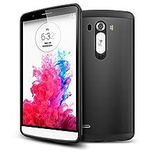 LG G3 Case, Spigen Slim Armor Case for LG G3 - Retail Packaging - SF Smooth Black (SGP10864)