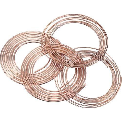 空調冷媒用軟質銅管10mコイル【NDK101210】 (販売単位:1本)