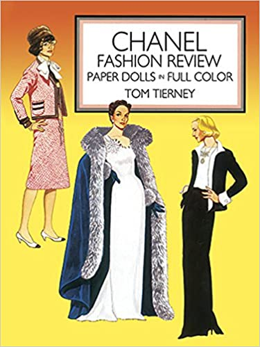 69aa6ff92940 Chanel Fashion Review Paper Dolls (Dover Paper Dolls): Tom Tierney:  0800759251056: Amazon.com: Books