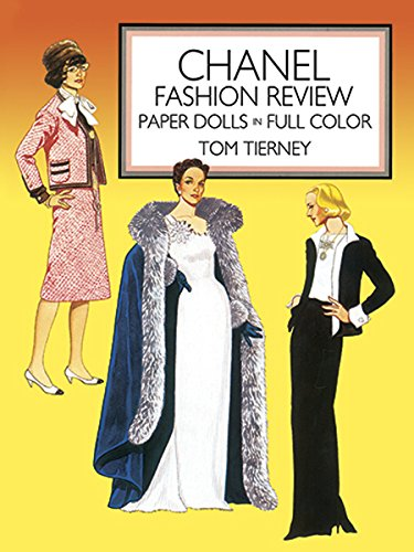 Coco Chanel Fancy Dress Costume (Chanel Fashion Review Paper Dolls (Dover Paper Dolls))