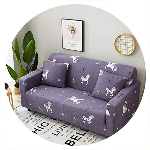 sensitives Elastic Sofa Cover Tight Wrap All Inclusive Sectional Couch Covers Sofa Slipcovers for Living Room 1/2/3/4 Seater funda Sofa,Color 15,45-45cm Pillowcase-2 (Melbourne Outdoor Buy Furniture)