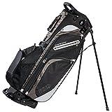 Izzo Versa Stand Golf Bag - Black, Red, Green or Blue - Golf Hybrid Stand Bag, Riding Hybrid Golf Stand Bag,...