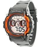 Performer - 70612622 - Montre Homme - Quartz Digital - Cadran LCD - Bracelet Polyuréthane Gris