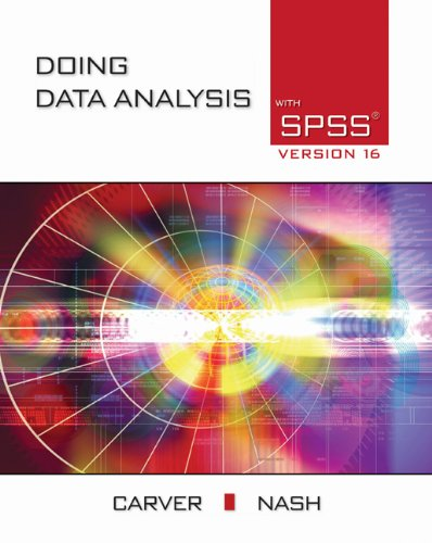 Download Doing Data Analysis with SPSS: Version 16.0 Pdf
