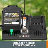 WORX WA3875 20V Li-ion Dual Port 2 Hour Charger