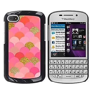 - Scales Pattern Gold Pink Glitter Bling - - Monedero pared Design Premium cuero del tir???¡¯???€????€??????????&fnof