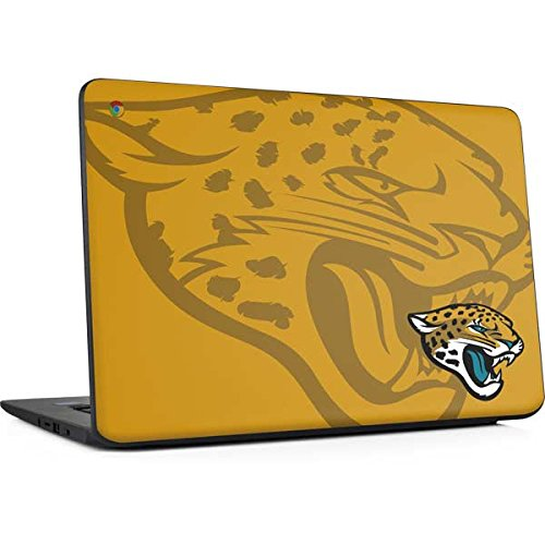Skinit Jacksonville Jaguars Double Vision Chromebook 14 G5 Skin - Officially Licensed NFL Laptop Decal - Ultra Thin, Lightweight Vinyl Decal Protection