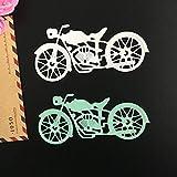 Metal Cutting Dies - Iusun DIY Cut Dies Stencil Scrapbooking Embossing Album Paper Card Craft Gift (F)