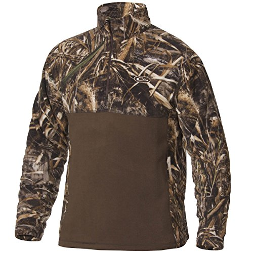 Drake Two Tone Camp Fleece Realtree Max5 Large