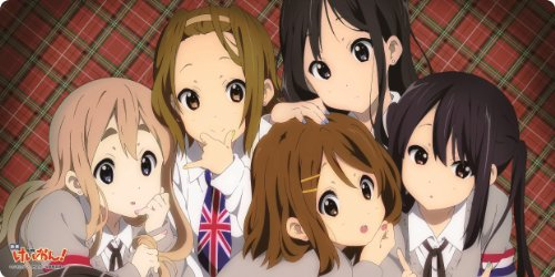 """Chara Rubber Mat Collection """"K-On! the Movie"""" Ho-kago Tea Time No. 003 (Japan Import)"""