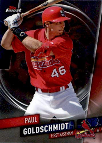 - 2019 Finest #21 Paul Goldschmidt St. Louis Cardinals Baseball Card