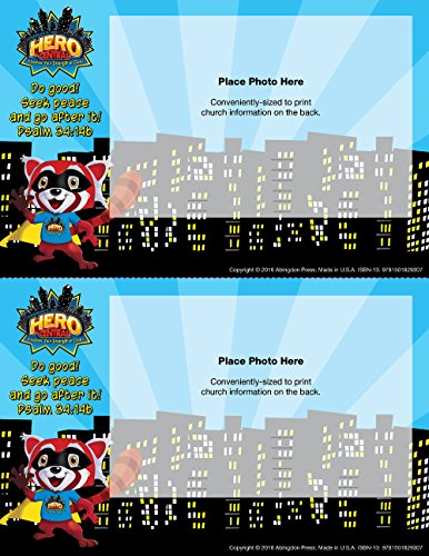 Vacation Bible School VBS Hero Central Follow-Up Photo Frames (Pkg of 48): Discover Your Strength in (Central Supply)