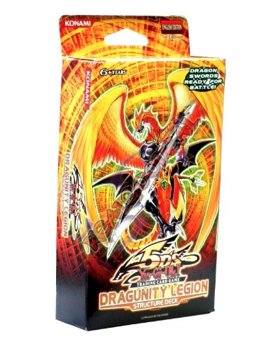 YuGiOh 5Ds Dragunity Legion 1st EDITION Structure Deck with Mirror Force! by Yugioh