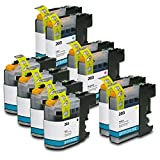 Printronic 10 Pack Compatible Brother LC203 Ink Cartridges for Brother MFC-J4620DW MFC-J4420DW MFC-J5720DW MFC-J5620DW MFC-J5520DW MFC-J4320DW Inkjet Printers
