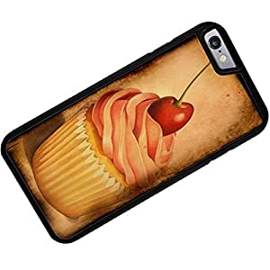 Rubber Case for iPhone 6 Plus Cupcake Vintage - Neonblond