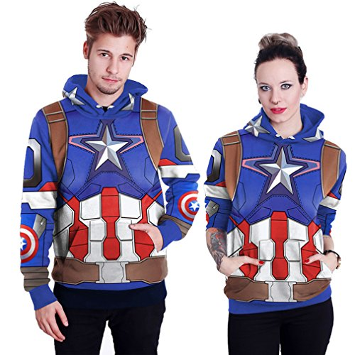 THENICE Neutral Long Sleeve Hoodies Sweatshirts lover Couples suits (M, team leader)