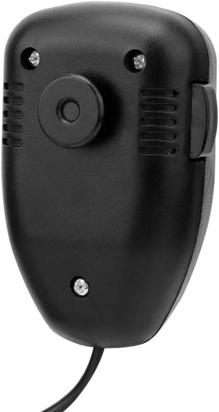 Hlyjoon 12 V Motorrad Hupe Sieben T/öne Alarm Hupe Sirene Lautsprecher Lauter Stereo Sound Wasserdichte Tragbare Lautsprecher Hupe Warnung Alarm Polizei Feuer Sirene Horn f/ür Auto Lkw