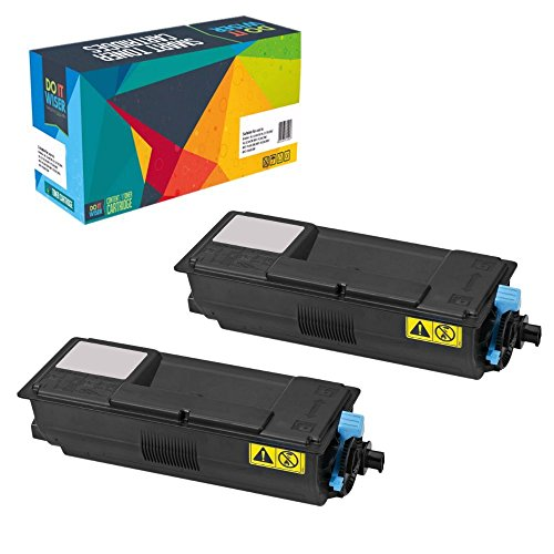 Do it Wiser ® Compatible Black Toner for KYOCERA MITA ECOSYS FS-2100D FS2100DN M3040idn 3540idn -TK-3102 - Yield 12,500 Pages (2Pack)