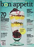 Bon Appetit August 2010 Great Grill Parties, Easy Sweets, 70 New Summer Recipes